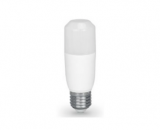 9W Dimmable Frosted LED Stick Lamp - E27 Warm White